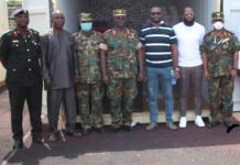 Legon Cities Fc And Careworld Global Support Donate To Military Hospital