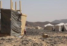 IDPs camp in Marib for families who escaped the increased clashes in Al Jawf Governorate Northern Yemen. Credit: Abdullah Algaradi/ICRC