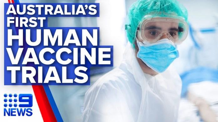 Australia's first human trials