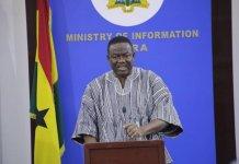 Mr Kofi Dzamesi Minister Of Chieftaincy And Religious Affairs