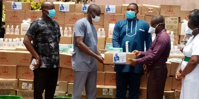 Obuasi Mp Donates Ppe