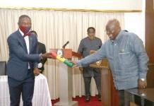 President Swears In New Deputy Health Minister