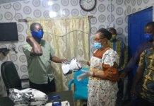 Ablekuma Central Assembly Donates Nose Masks To Associations
