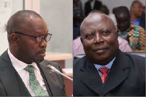 Dominic Ayine And Martin Amidu