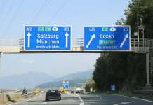 German-Austrian border