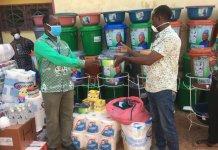 Mp Supports Coronavirus Fight In Kassena Nankana West