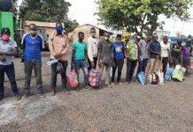 Nineteen Nigerians Intercepted