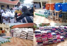 Okyenhene Donates Items To Support The Fight Against Covid