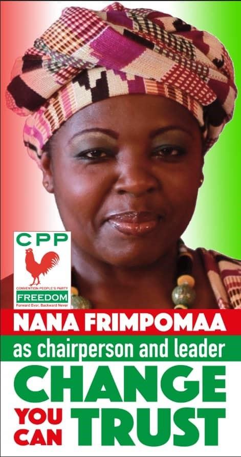 Politics Cpp Election Nana Frimpomaa Sarpong