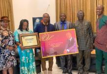 Prophet Obotuo Receives Global Humanitarian Award