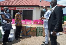 Actionaid Ghana Distributes Relief Items To Vulnerable Households