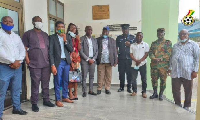 Gfa Safety And Security Committee Meets Premier League Management