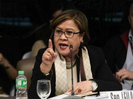 Senator Leila De Lima
