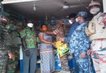 Sunyani Covid Taskforce Begins Door To Door Nose Mask Distribution