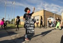Detroit Demonstration Against School Reopening