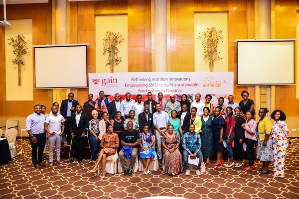 National Finalists For The Sun Pitch Competition In Tanzania