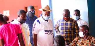 Npp Western North Regional Chairman Visits Registration Centres