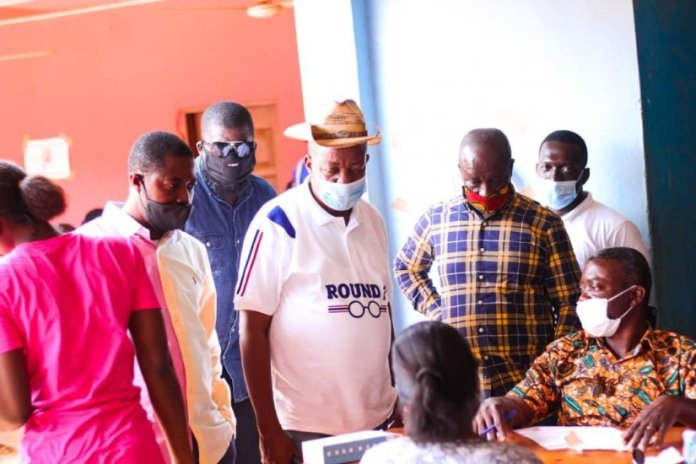 Npp Western North Regional Chairman Visits Registration Centres