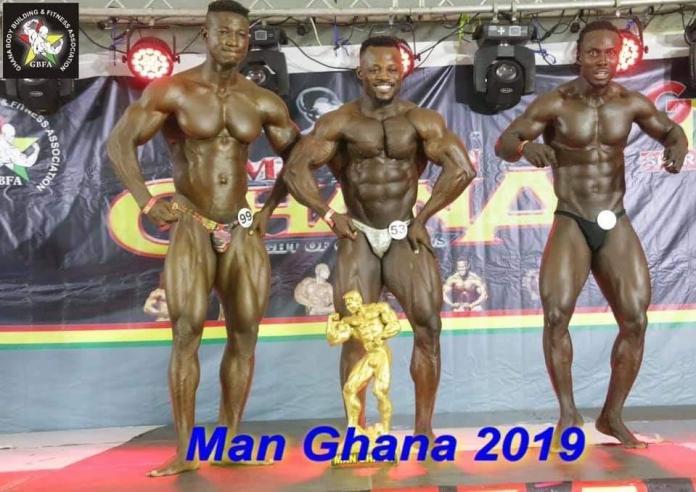 Bodybuilding Man Ghana