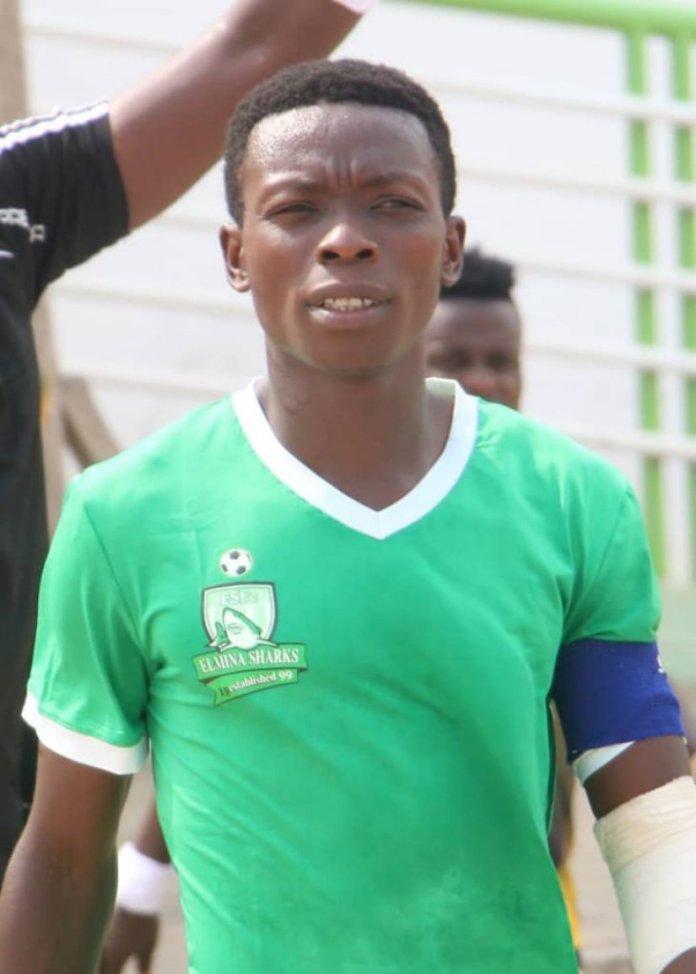 Daniel Obeng Crentsil Captain Of Elmina Sharks Fc