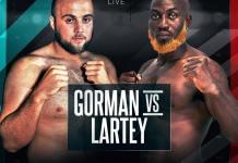 Richard Lartey returns to the ring