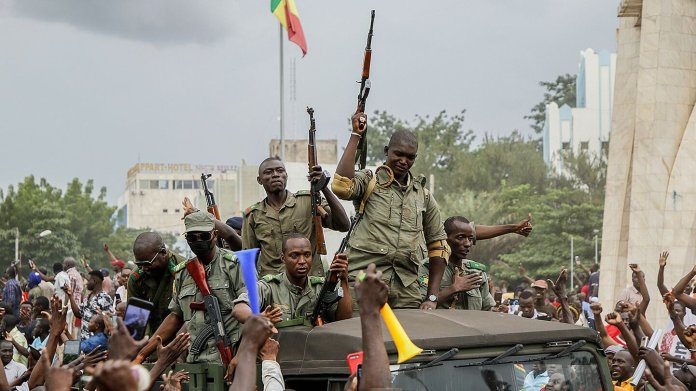Mali Coup Was Stated By Mutinous Soldiers On April Nyt Photo
