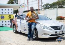 Ahmed Boakye Receives Keys