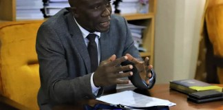 Chief Executive of the Community Water and Sanitation Agency (CWSA), Engineer Worlanyo Kwadjo Siabi (MV)