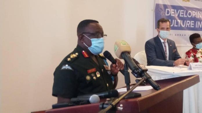 Major General Francis Ofori Commandant