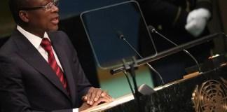 President Patrice Athanase Guillaume Talon Of Benin