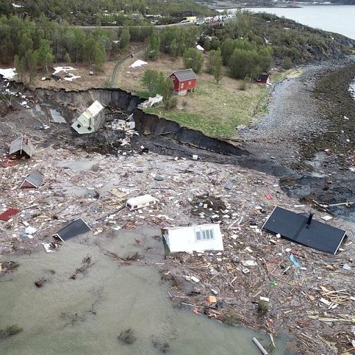 Norway Landslide Injures 10 and Leaves 15 Missing