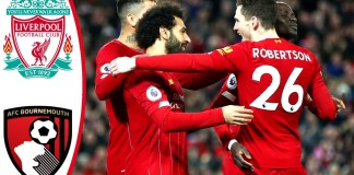 Liverpool 2 – 1 Bournemouth (Watch Highlight Here)