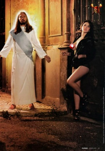 Gesù su Playboy