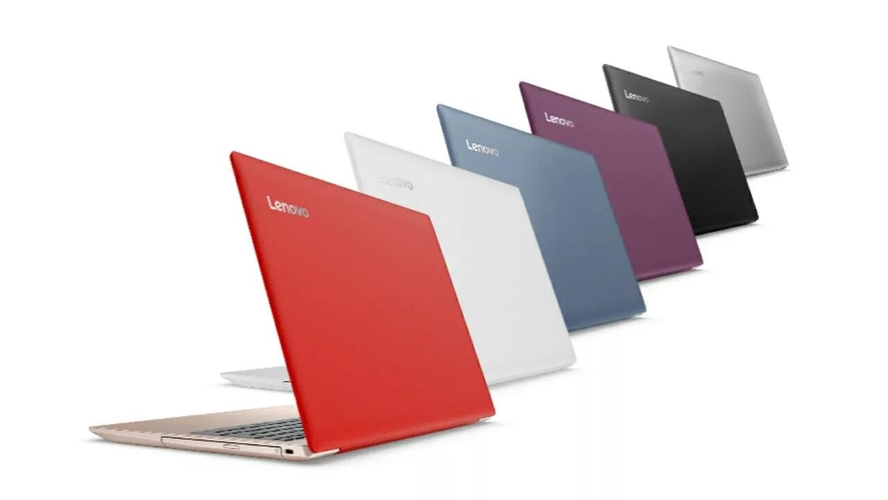 レノボ、カラバリも性能も豊富な15.6型ノートPC「ideapad 320」を発表
