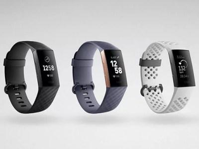 Fitbitが新型リストバンド型活動量計「Charge 3」を発表!充電1回で7日間使用可能に