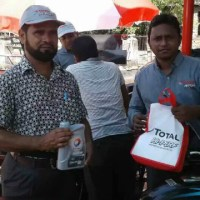 TOTAL HI-PERF 4T SPECIAL engine oil launched in Rajshahi, Rangpur in Bangladesh