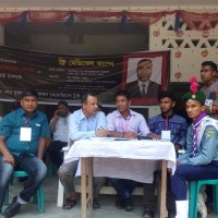 Dr. Nuruzzaman free medical camp organized in Narsingdi, Bangladesh