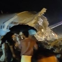 Air India plane with 191 people on board crashed in Kerala