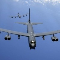 US Deployed nuclear bomb carrier aircraft in the Middle East