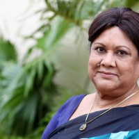 Actress Sujata in CCU after having a heart attack