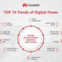 Huawei released Top 10 Trends of Digital Power