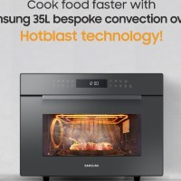 Samsung's microwave oven boasts unique features that go beyond heating meals