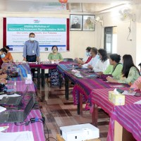 A sharing workshop on 'NARI' network has been held in Bandarban