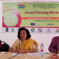 Inauguration session held on Annual Planning Workshop of OLHF project in Cox's Bazar