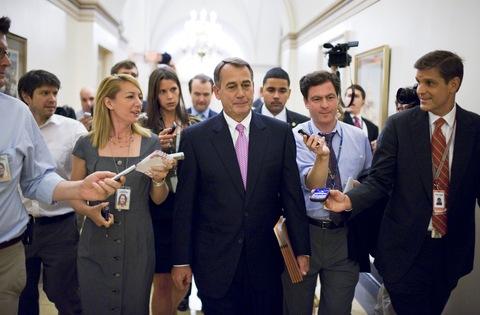House Speaker John Boehner; photo by Tom Williams/Roll Call