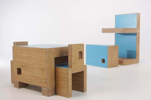 Multifunctional Modular Furniture  ReStyle by James Howlett