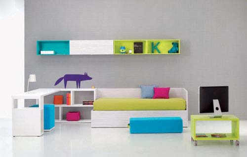 Decorating Kids Room With Bedroom Furniture From Bm