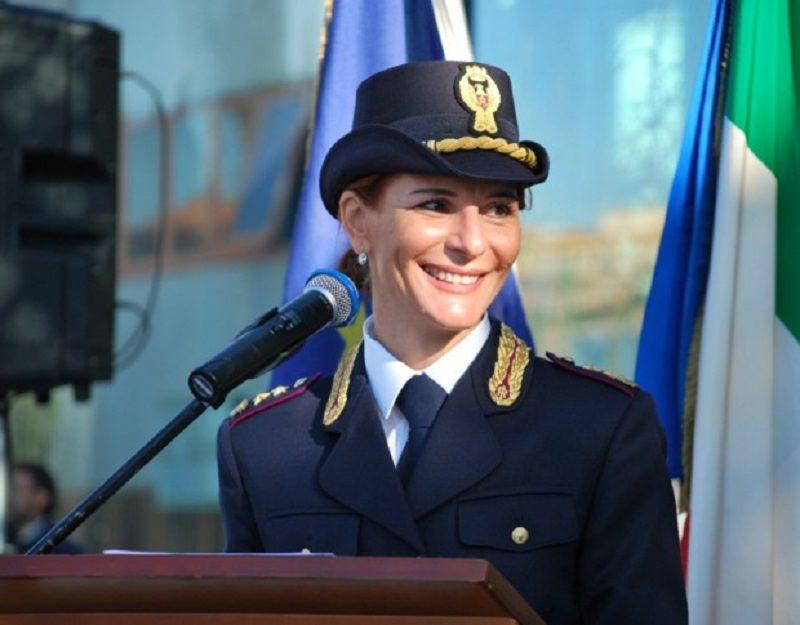 Al Quirinale la poliziotta catanese Marica Scacco  Newsicilia