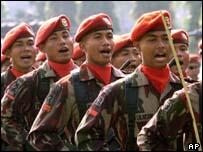 Kopassus, Indonesia's elite special forces