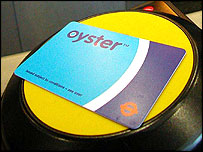 Oyster card system